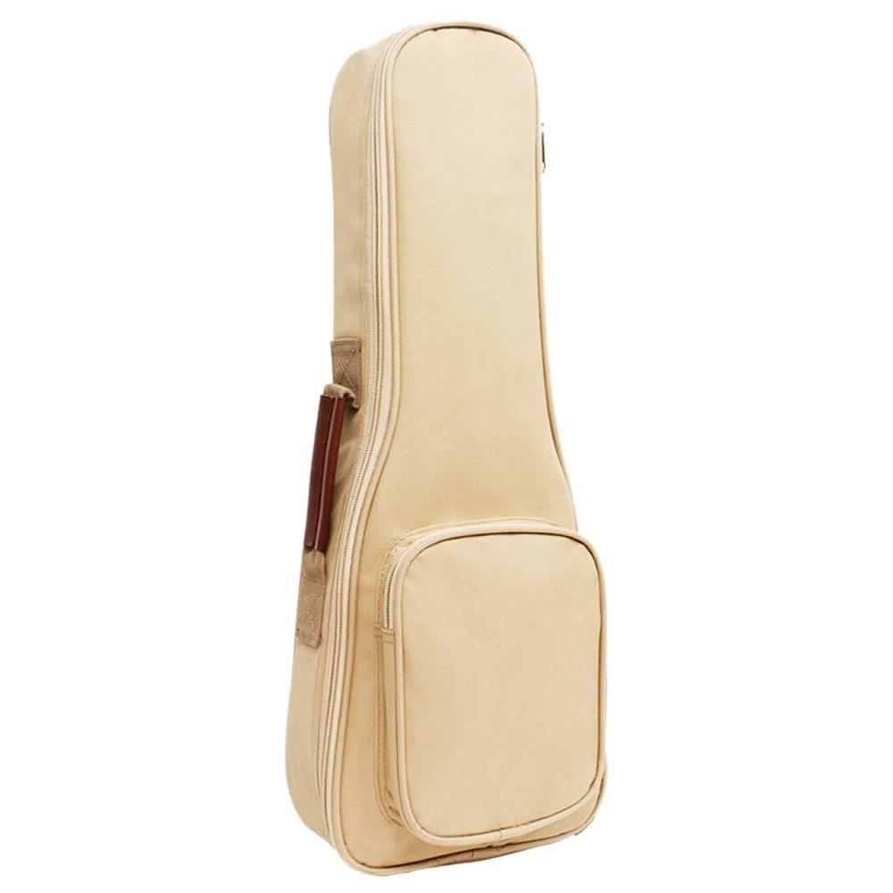 Waterproof Ukulele Bag Case Backpack Ukelele Guitar Accessories Beige 23/24 inch - 66*26cm