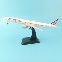 20CM AIR FRANCE BOEING 777 METAL ALLOY PLANE MODEL AIRCRAFT MODEL WHEELS TOY AIRPLANE COLLECTIBLE BIRTHDAY GIFT