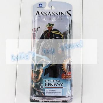Assassin's Creed PVC figure Black Flag Connor Haytham Kenway Haytham Kenway Altair Ezio Master Assassin Toy
