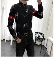 האיכות הטובה ביותר ארוך שרוול גודל אסיה גברים עסקי זכר חולצה שמלת שרוול ארוכים גברים אביב סתיו