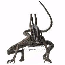 ToysPark Aliens 7 skala Xenomorph Alien figurka wysuwana wewnętrzna usta przymierze Moive Collectible 2017 NECA Alien Series tanie tanio JAXTOY Model Żołnierz gotowy produkt Wyroby gotowe Unisex 7inch Zachodnia animiation 3 lat Zapas rzeczy Film i telewizja