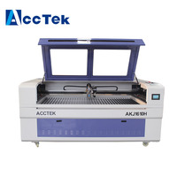 AccTek low costs double laser heads cnc pipe laser cutting machine soft laser carbon cream