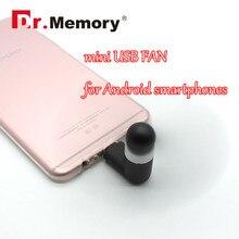 Mini usb Fan USB gadgets For Android smartphones removable USB Fan 2 pins Flexible mini OTG