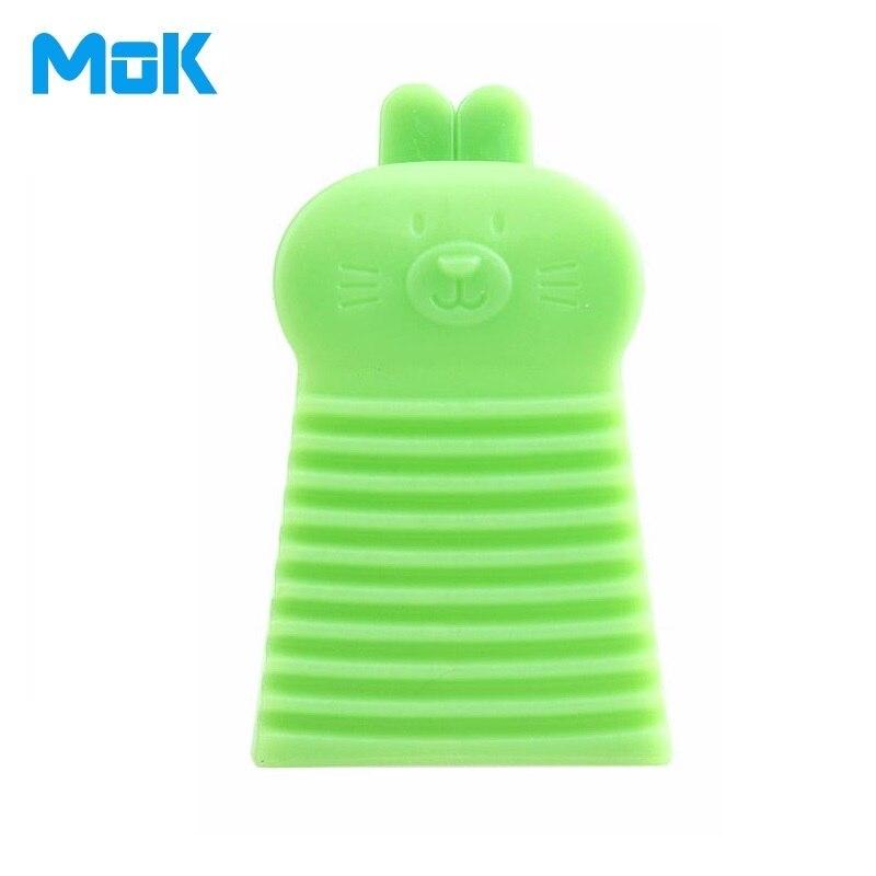 5 Unidades Mini Conejo de Mano Paño de Limpieza Cepillos De Plástico Tabla de La