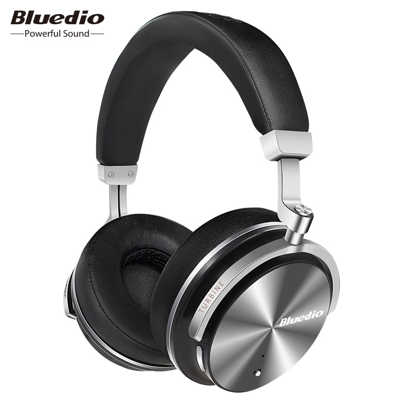 Bluedio T4S Active Noise Cancelling Wireless Bluetooth Headphones wireless Headset with microphone for phones azgiant bluetooth 4 2 active noise cancelling headphones wireless bluetooth headset with microphone for phones and music