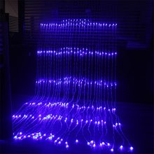 3x2M/3x3M/6x3M Waterproof Waterfall Meteor Shower Rain LED String Lights For Holiday Light Wedding Xmas Christimas Party Decor(China)