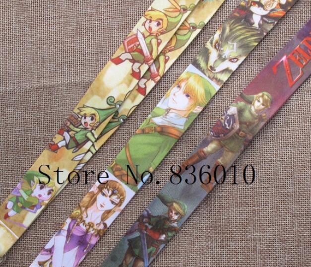 Hot Sale! 60 pcs Japanese Anime  Key Chains Mobile Cell Phone Lanyard Neck Straps   Favors SZ-226
