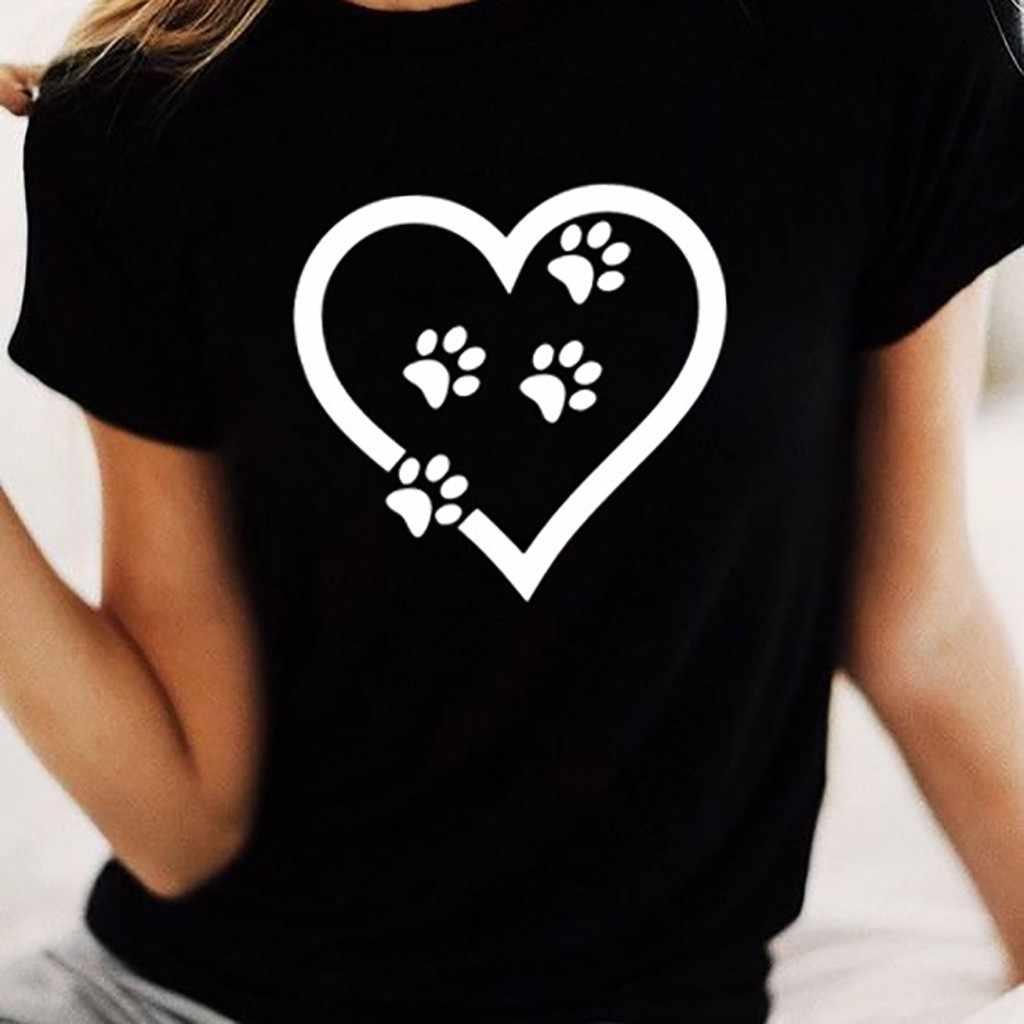 Tình Yêu Mới In Hình Mùa Hè Thời Trang Nữ Polyester Spandex Ngắn Cổ Tròn Femme Áo Quentin Tarantino Camiseta Mujer