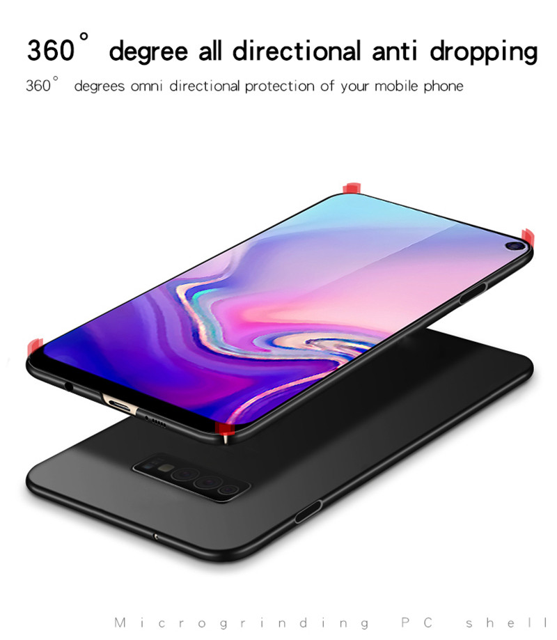 Image 5 - For Samsung Galaxy S10E Case Silm Luxury Ultra Thin Smooth Hard PC Phone Case For Samsung Galaxy S10e Cover For Samsung S10E-in Fitted Cases from Cellphones & Telecommunications