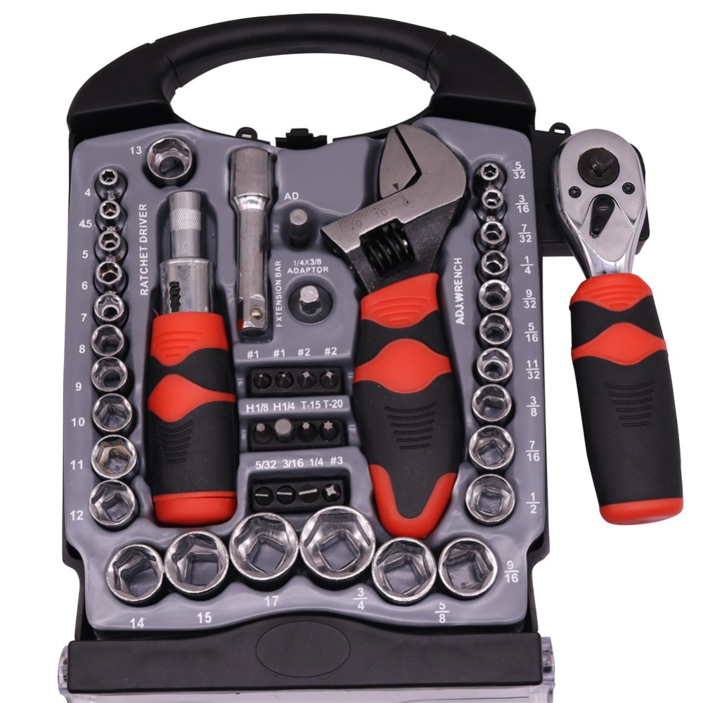 1 Set Of Combination Tools Ratchet Handle Wrench Spare Sockets 24/22/19/17/15/14/13/12/11/10mm