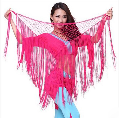 New Style Belly Dance Costumes Lace Tassel Belly Dance Hip Scarf For Women Belly Dancing Belts