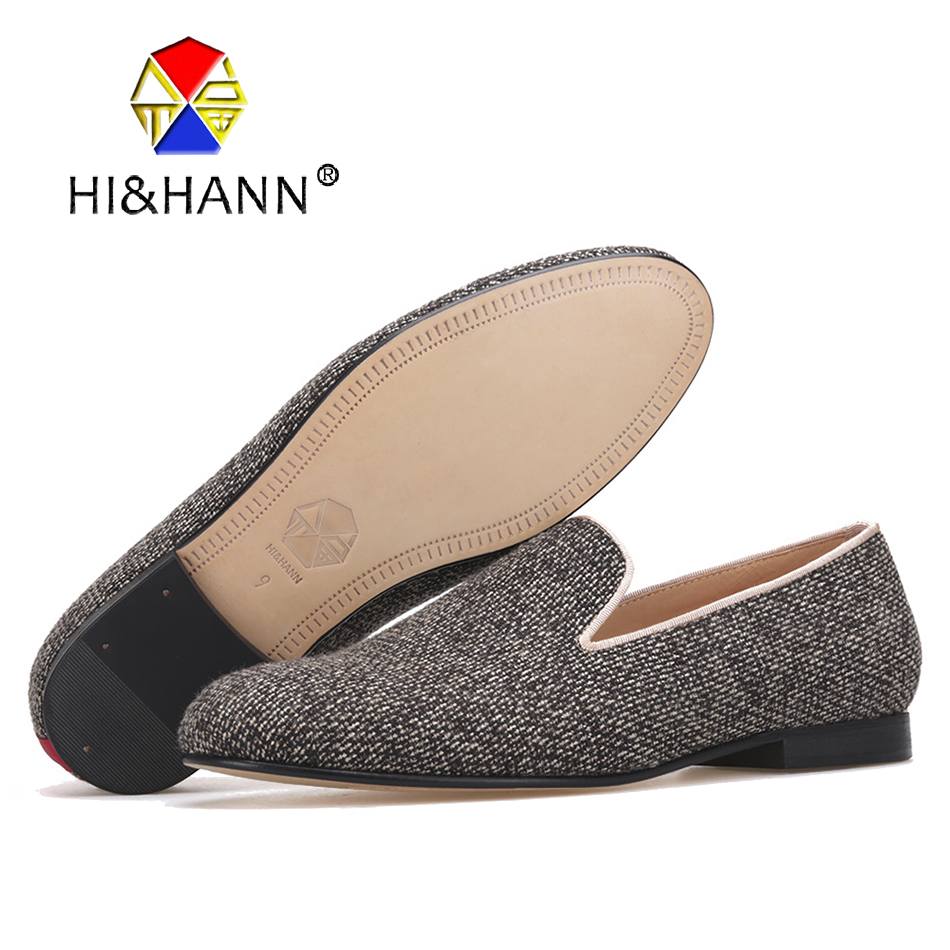 New arrival men Cotton Fabric shoes with Genuine Leather bottom and insole Fashion British men smoking slippers male's loafers 2016 new fashion men leopard cotton fabric shoes british mens flats smoking slippers men loafers casual shoes plus size 4 17