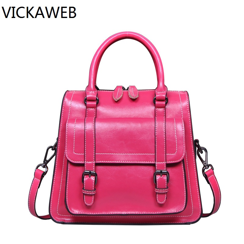 famous designer women handbag genuine leather tote bag luxury brand women messenger bags vintage ladies handbag