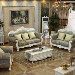 Meble do salonu nowoczesne tkaniny sofa europejski przekroju ZESTAW SOF 1037