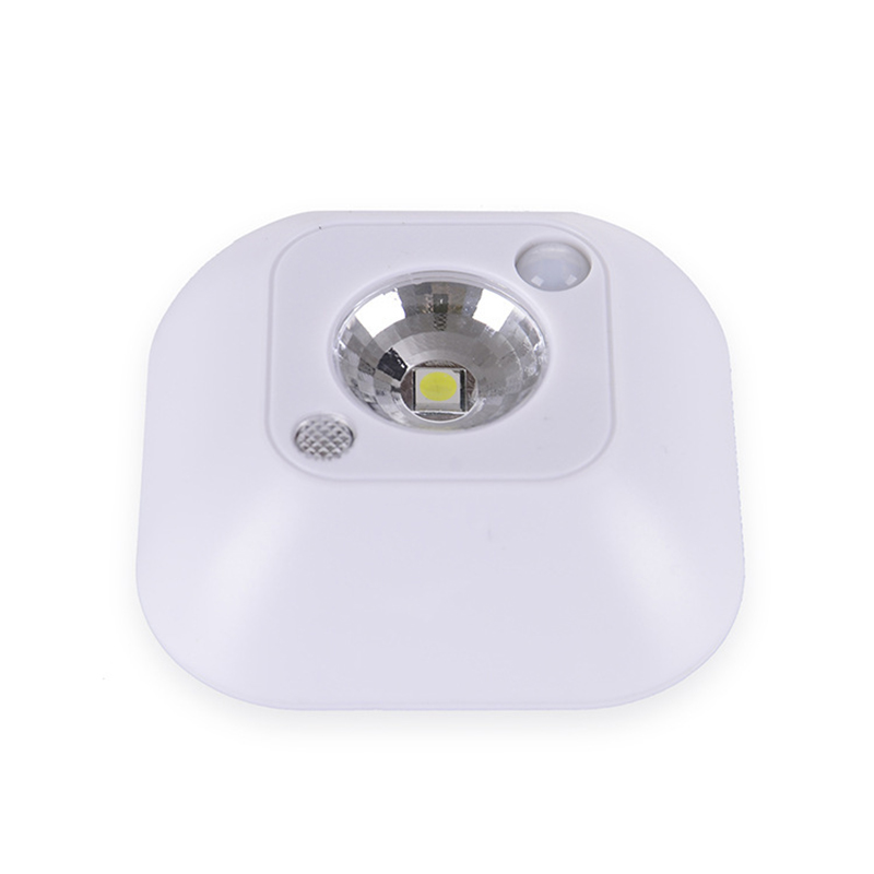 Lumiparty Mini Wireless Motion Sensor Ceiling LED Night Light Porch Wall lamps PIR Intelligent Human Body Motion Induction Lamp
