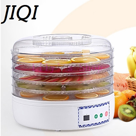 Dried Food Dehydrator Fruit Vegetables Herb Snacks Dryer Meat Drying Machine Fruit dehydration machine 5 trays layers EU US plug 1pcs 8 layer fruit dry machine dehydration machine large capacity food drying machine