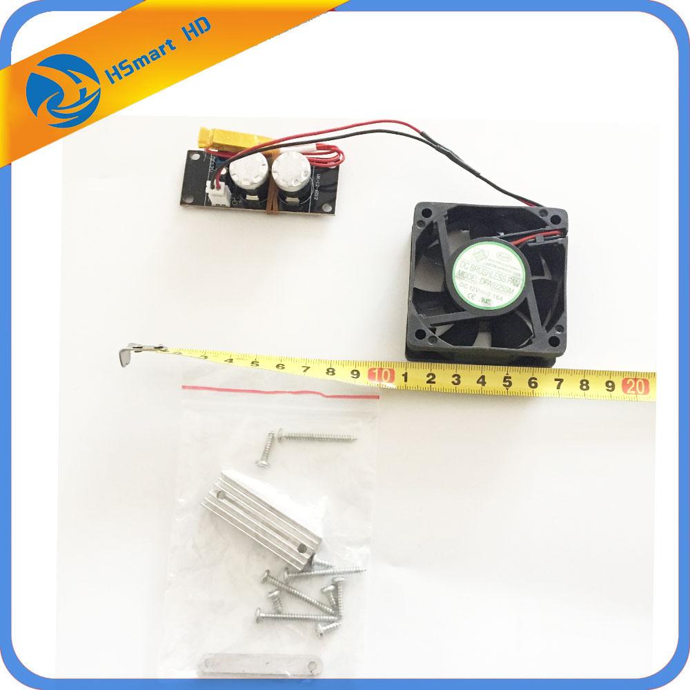 Heater Fan Thermostat Temperature Control System For CCTV AHD TVL 1080P Camera DC 12V