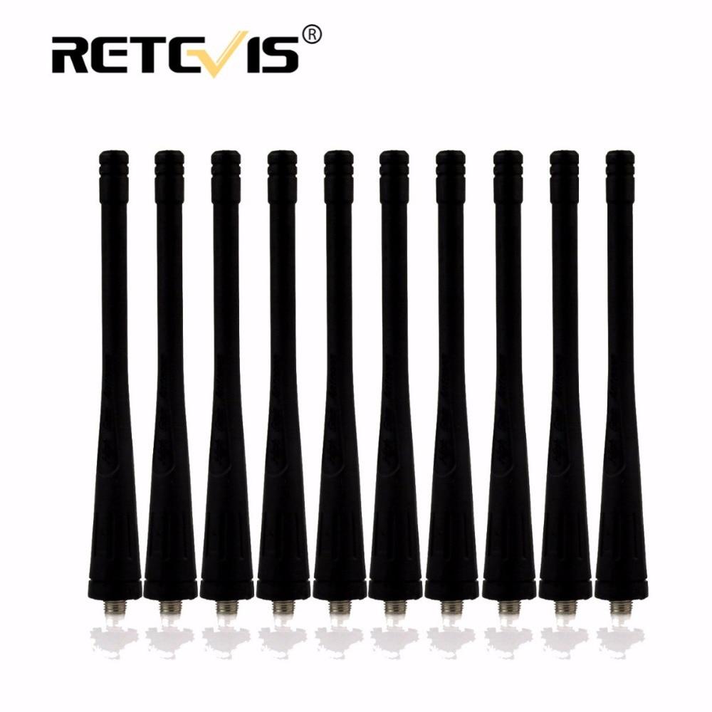 10 pcs SMA-F (Femelle) Antenne UHF 400-480 MHz Pour baofeng BF-666S BF-888S BF-777 Retevis H777 Talkie walkie Accessoires J9104D