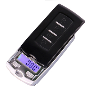 Image 3 - Super mini pocket jewelry cract scale 200g/100g*0.01g Car Key digital scales weight Balance Gram Scale