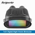 7x31 ночное видение бинокль цифровой инфракрасный ночное видение Сфера 1280x 720P HD фото камера видео регистраторы ясно видеть до 400 м