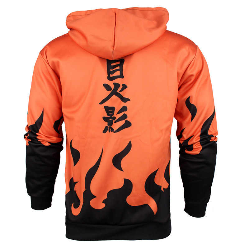 Naruto Hoodie 4th Hokage Uzumaki Namikaze Minato Uchiha Itachi Akatsuki Zipper Mantel Pakaian Hoodies Sweatshirt
