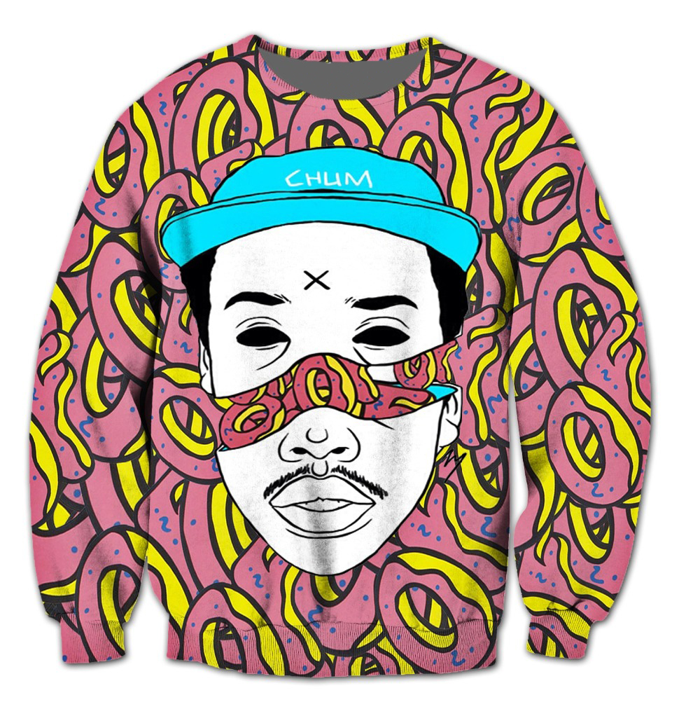 New Odd Future 3D Crewneck Sweatshirt Women Men Tops Outfits Casual Jogger Jumper Fashion Clothing Hoodies Plus Size S-5XL R2580