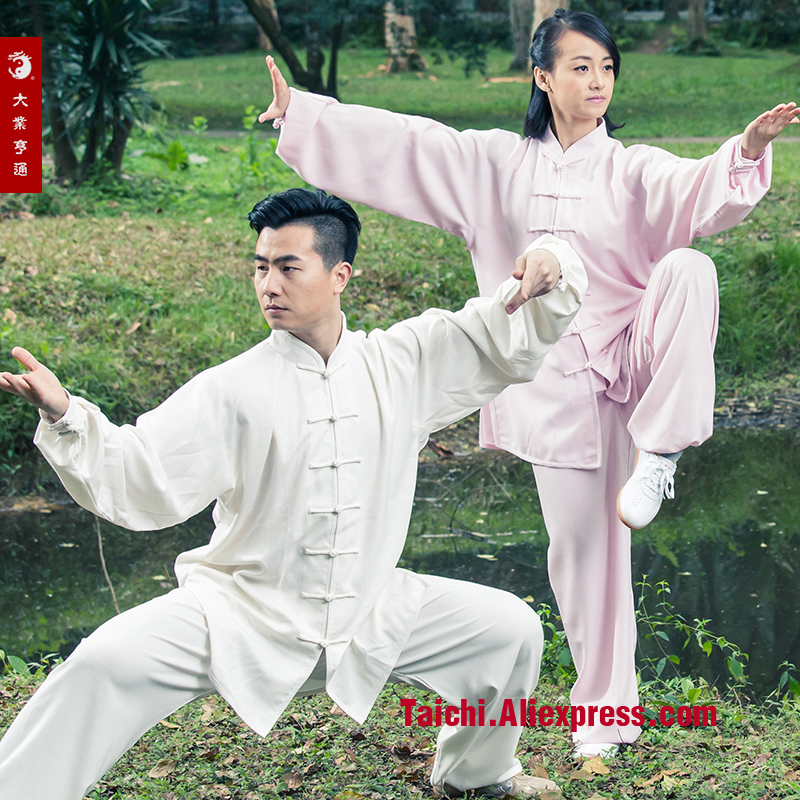 Natural Hemp Spring And Summer Seasons In Elderly Martial Arts Clothes Exercise Taijiquan Clothing