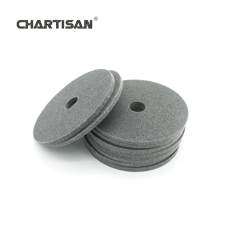 CHARTISAN 150mm Fiber Polishing Wheel Disc For Fillet Weld Polisher Grinding