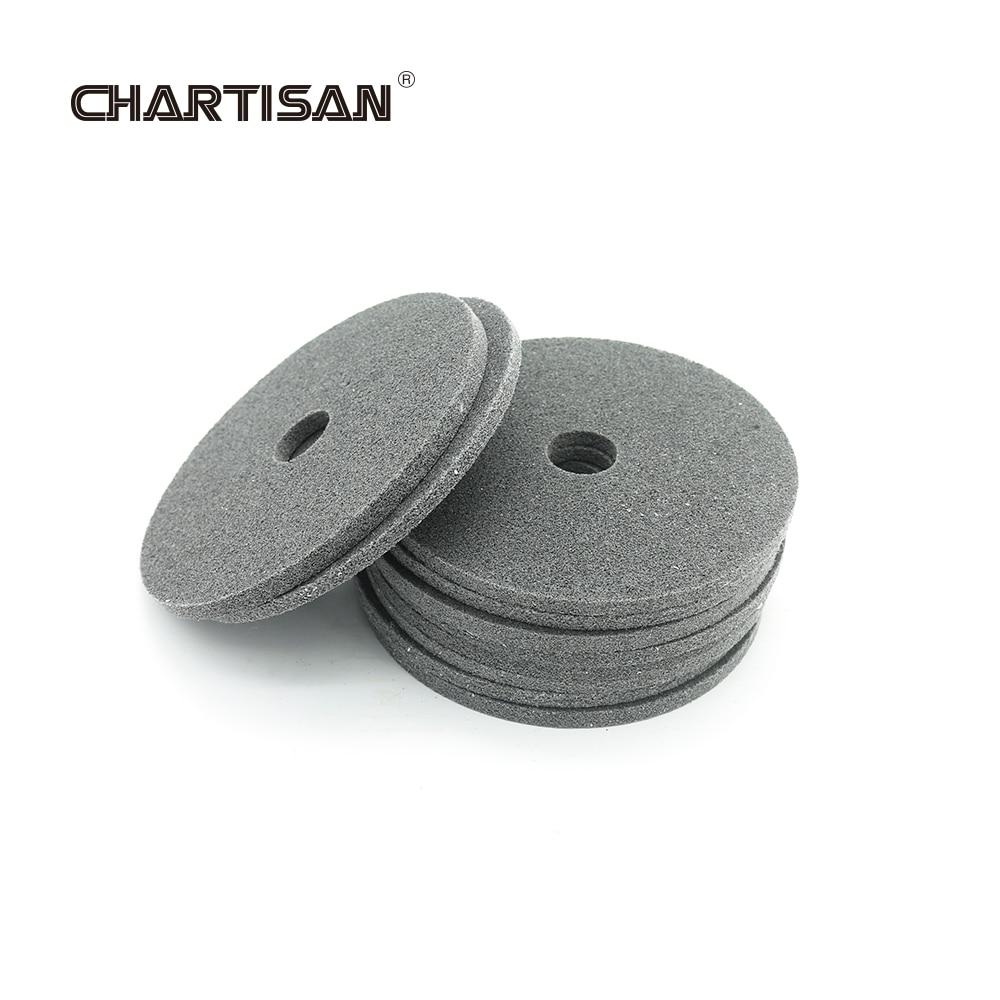 CHARTISAN 150mm Fiber Polishing Wheel Disc For Fillet Weld Polisher Grinding