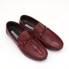 Crocodile Design Breathable Luxury Shoe
