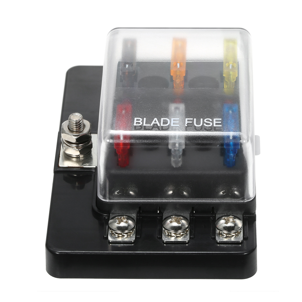 Fuse Box For Small Boat : Kkmoon v way blade fuse box with led indicator