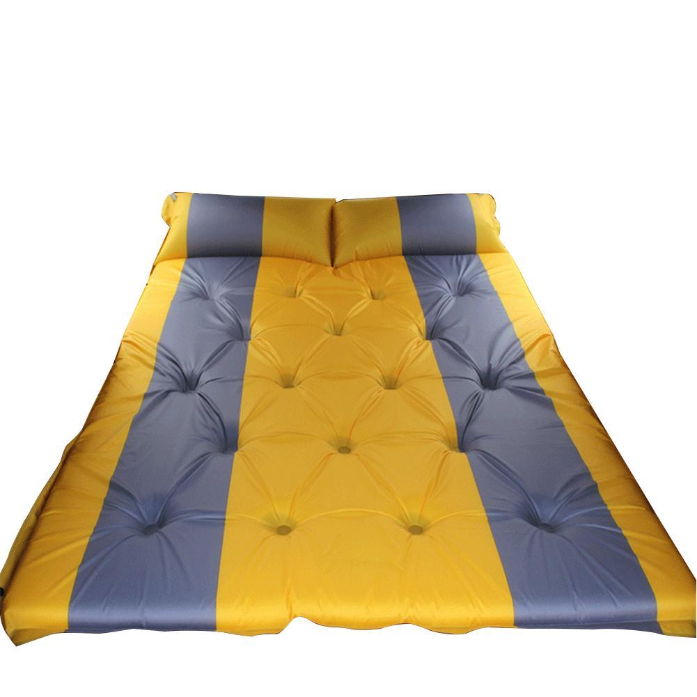 Lit de voyage de Camping en plein Air tapis étanche à l'humidité SUV voiture auto conduite Tours matelas gonflable siège tapis gonflable avec pompe à Air - 2