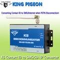 Comunicador GSM PSTN a GSM Convertidor de Alarma Ademco Contact ID SIA IP Convertidor de IP a Través de la Red GPRS SMS de Alerta y SIA K5