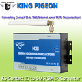 GSM Communicator Alarm PSTN to GSM Converter Ademco Contact ID to SIA IP Converter SMS Alerter and SIA IP Over GPRS Network K5