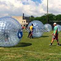 Free Shipping Zorb Ball 2.5m Human Hamster Ball 0.8 mm PVC Material Zorb Inflatable Ball Outdoor Game