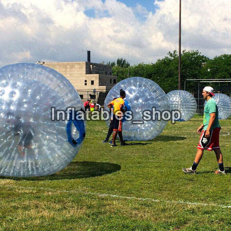 Livraison Gratuite Boule de Zorb 2.5 m Hamster Humain Balle 0.8mm PVC Matériel Zorb Ballon Gonflable En Plein Air Jeu