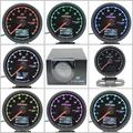 Gre**y Gauge EXT Temp Gauge 7 Light Color LCD Display With Voltage EGT Gauge Meter 62mm 2.5 Inch With Sensor Racing Greddi Gauge