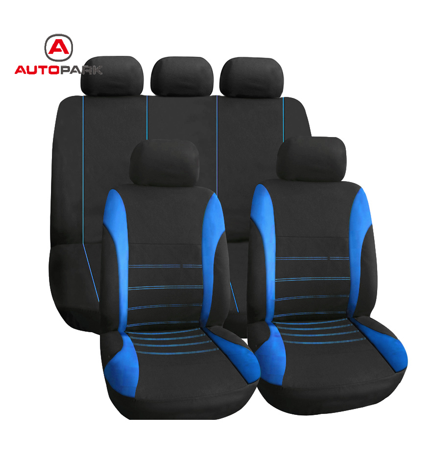 Universal Waterproof Car Seat Covers Front Back Headrest Cover Mesh Protector For Peugeot 307 Toyota VW In Automobiles From