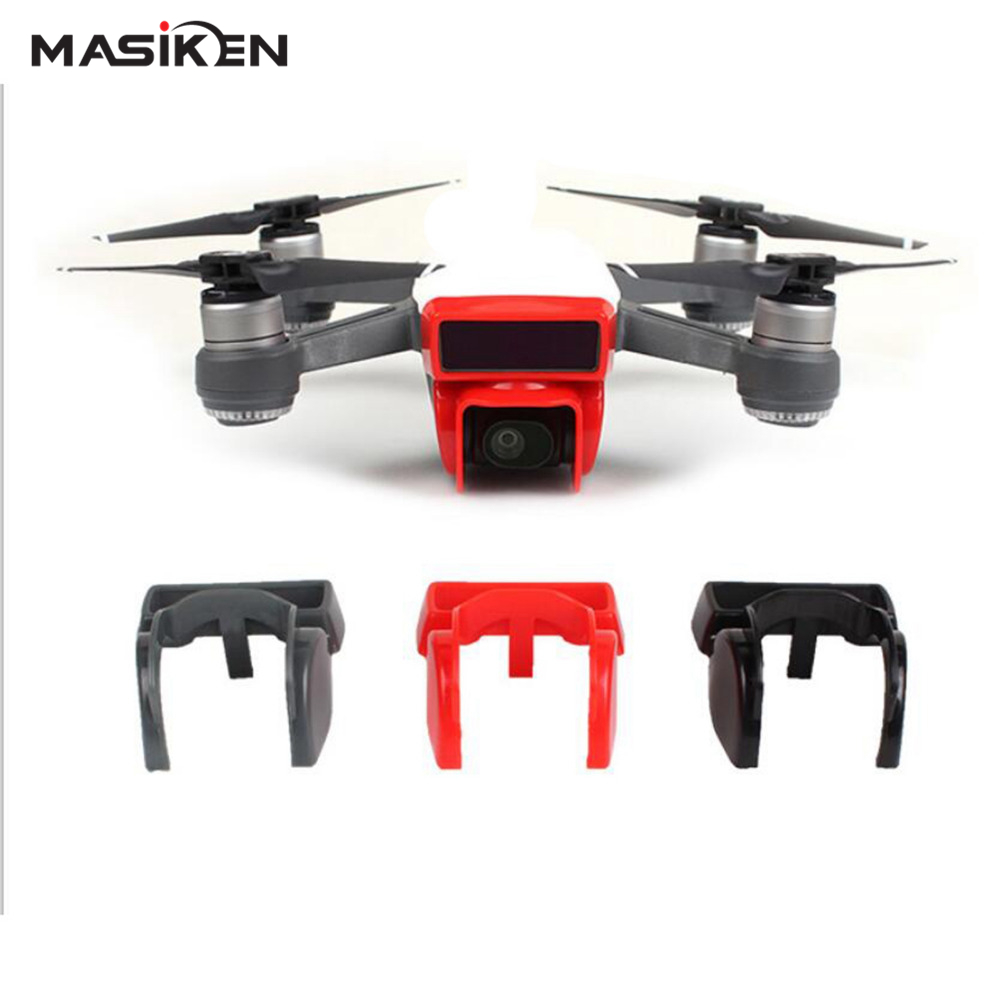 MASiKEN Protective lens cover Case for DJI Spark Drone Camera lens Sunhood for spark Accessorie Protector Cover