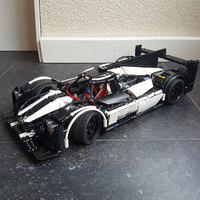 Technic Series MOC Hybrid Super Race Car Champion Marvel Model Building Blocks Sets Kits Bricks Toys Compatible Legoings 5530