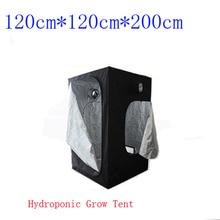 1PC 120CM x120CM x200CM Hydroponic Grow Tent Reflective Mylar Window Cabinet Hut