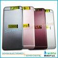 Nuevo para htc one a9 contraportada puerta de la batería caso de vivienda de aluminio, negro o blanco o rosa o rojo. OEM
