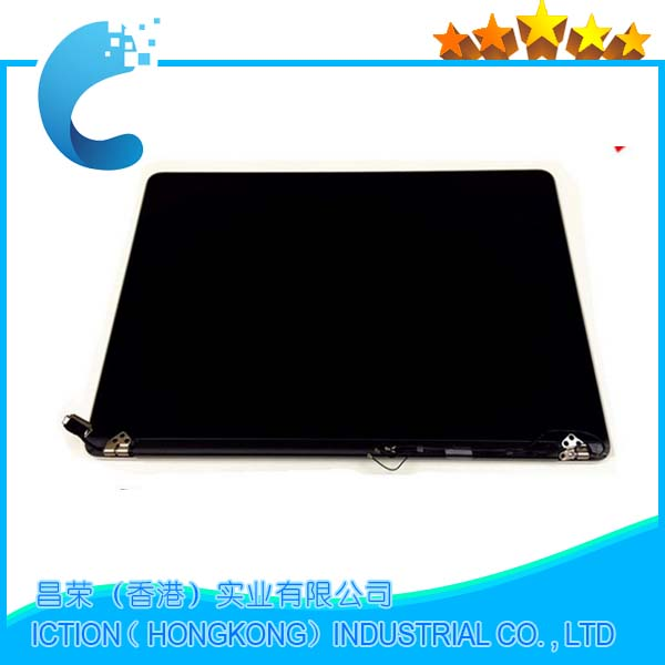 "Image 2 - New Mid 2015 Full LCD for Apple MacBook Pro 15.4"" Retina A1398 15"" LCD Screen Display Full Assembly EMC2909 EMC2910 Full Tested-in Laptop LCD Screen from Computer & Office"