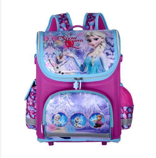 Upgrade Multi-Style Elsa Bag Butterfly Princess Backpack Waterproof Girls School Bags Orthopedic Backpack for Girl mochila kids