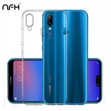 Ultra Thin Soft Transparent Silicone Case For Huawei Honor 20 Nova 5 Nova4 Nova 3I Slim Protective TPU Cover On P20 Pro P30 Lite(China)