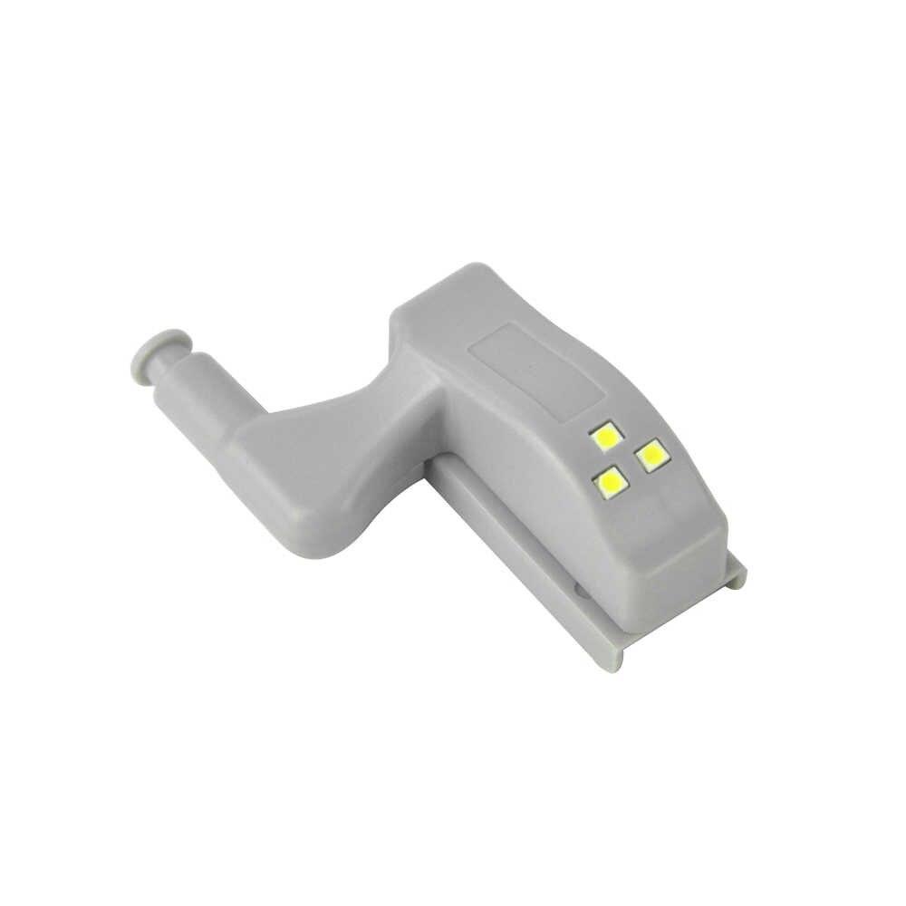 Светодиодный светильник для шкафа датчик света для дома шарнирная лампа внутренняя для кухонный шкаф Освещение для шкафа