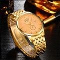 Водонепроницаемый BOSCK-5726, ультра-тонкий мужские часы, люксовый бренд наручные часы, кварцевые часы мода, календарь повседневная часы