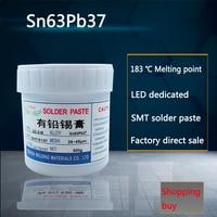 Leaded SMT Solder Paste LED Dedicated Solder Paste Sn63Pb37 500 Grams