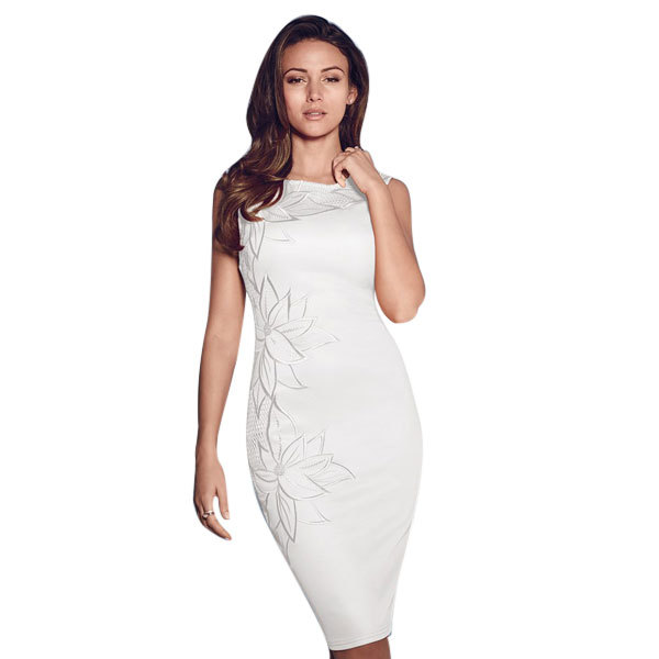 Neck bodycon casual dress free shipping elegant ladies sexy party wear