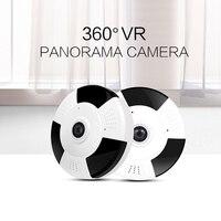 720P 1080P IP Camera Onvif Fisheye Panorama IR Night Vision HD Security CCTV Wifi Camera 360